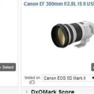Il sito definitivo per confrontare lenti, sensori e macchine fotografiche